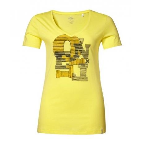 T-SHIRT damski O'neill LW ELLI S/SLV TEE Light Yellow