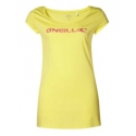 T-SHIRT damski O'neill LW JENNY S/SLV TEE Light Yellow