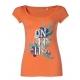 T-SHIRT damski O'neill LW MARLY S/SLV TEE Living Coral