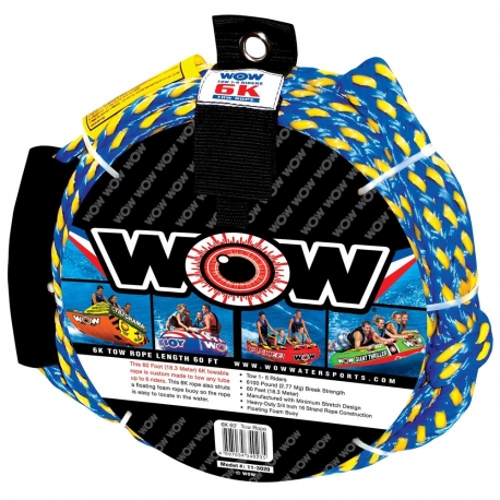 Lina do holowania WOW 6K 60ft Tow Rope 6 person