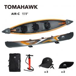 "Kajak Aqua Marina Tomahawk 15'8"" 3 osobowy"