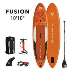 "Deska SUP Aqua Marina Fusion 10'10""/pompka/ wiosło"